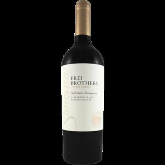 Bottle shot for 2018 Frei Brothers Cabernet Sauvignon Alexander Valley