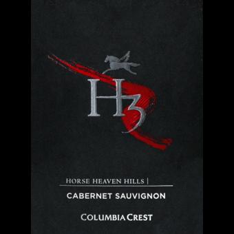 Label shot for 2018 Columbia Crest H3 Cabernet Sauvignon