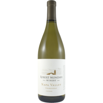 Bottle shot for 2018 Robert Mondavi Napa Chardonnay