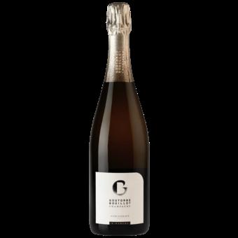Bottle shot for  Goutorbe Bouillot 'noir Coteaux' Brut Nv