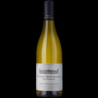Bottle shot for 2018 Genot Boulanger Puligny Montrachet Les Nosroyes
