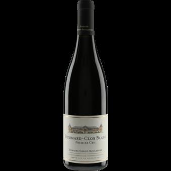 Bottle shot for 2018 Genot Boulanger Pommard 1er Cru Clos Blanc (Rouge)