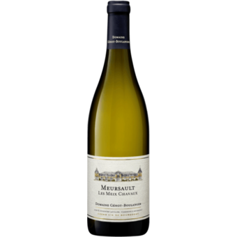 Bottle shot for 2018 Genot Boulanger Meursault Meix Chavaux