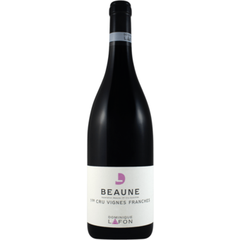 Bottle shot for 2017 Dominique Lafon Beaune Vignes Frances