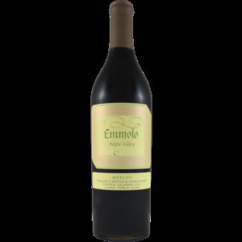Bottle shot for 2018 Emmolo Merlot