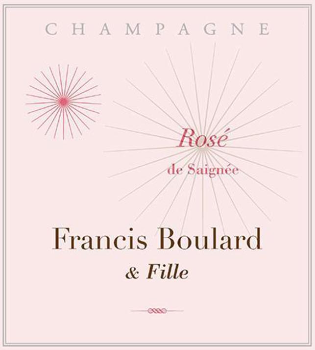 Francis Boulard Rose De Saignee Extra Brut 2013