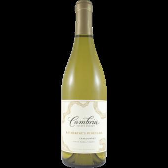 Bottle shot for 2018 Cambria Chardonnay Katherine's Vineyard