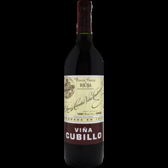 Bottle shot for 2012 Lopez De Heredia Cubillo Crianza