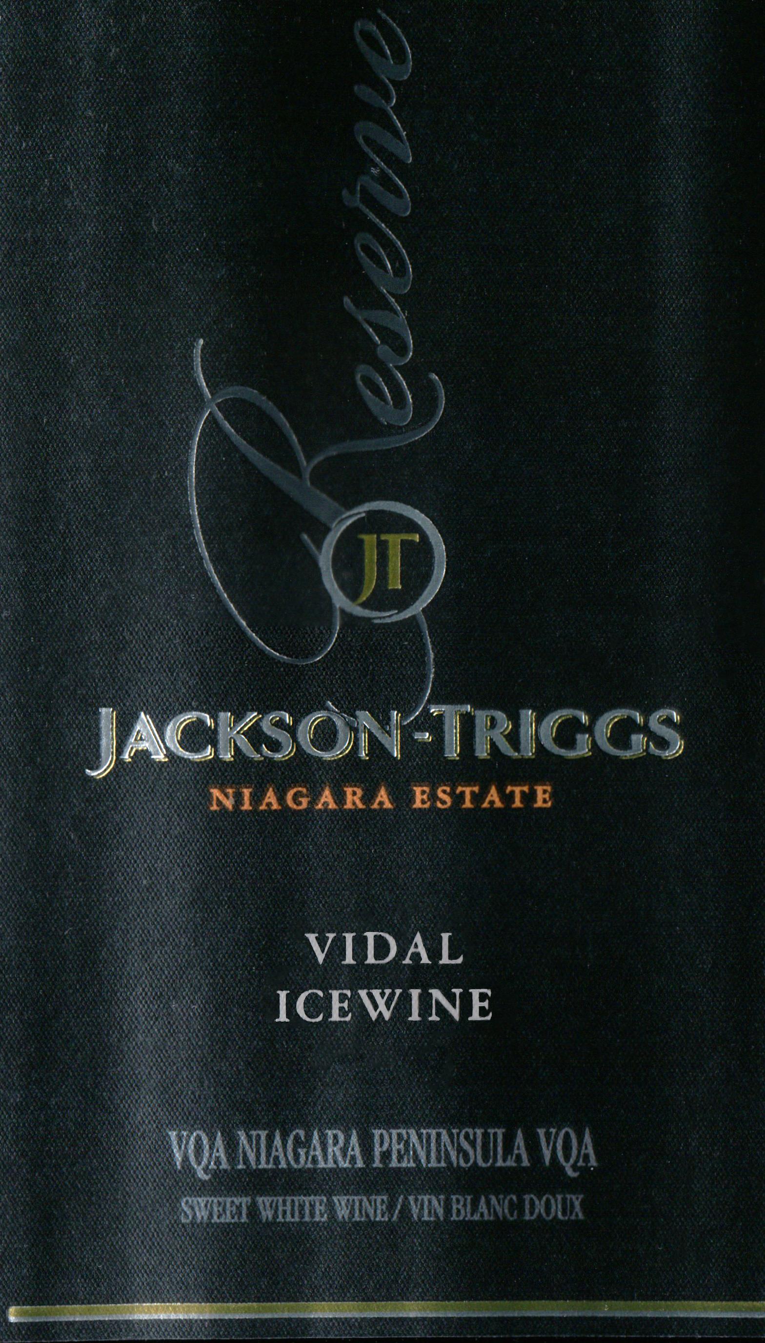 Jackson Triggs Vidal Icewine 187ml 2018