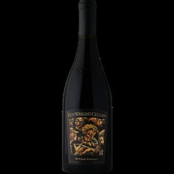 Bottle shot for 2017 Ken Wright Mccrone Vineyard Pinot Noir