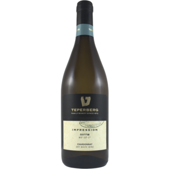 Bottle shot for  Teperberg Impression Chardonnay Judean Hills