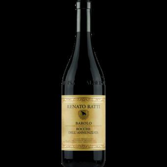 Bottle shot for 2016 Renato Ratti Barolo Rocche Dell'annunziata