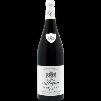 Bottle shot for 2019 Paul Et Marie Jacqueson Mercurey Rouge 1er Cru Les Champs Martin