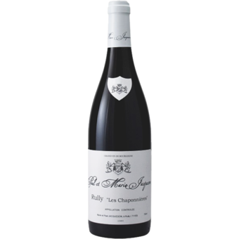 Bottle shot for 2019 Paul Et Marie Jacqueson Rully Rouge Chaponnieres