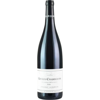 Bottle shot for 2016 Vincent Girardin Chambolle Musigny Vielles Vignes