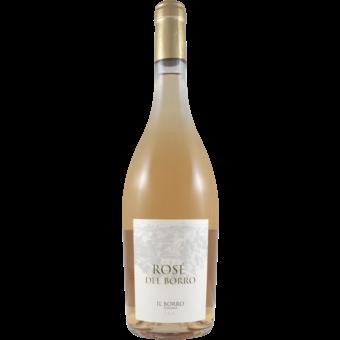 Bottle shot for 2018 Il Borro Rose Del Borro