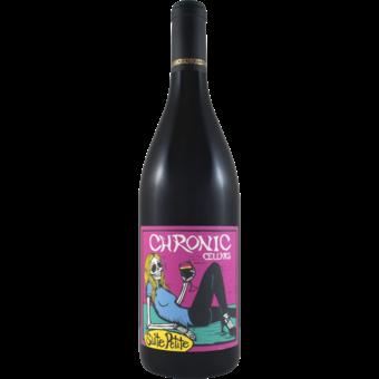 Bottle shot for 2019 Chronic Cellars Suite Petite Sirah