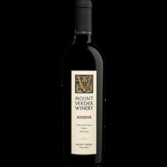 Bottle shot for 2016 Mt Veeder Reserve Red