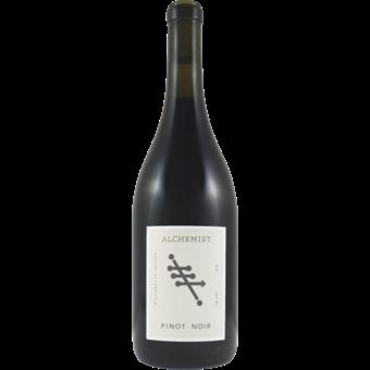 Bottle shot for 2018 Alchemist Pinot Noir Willamette Valley