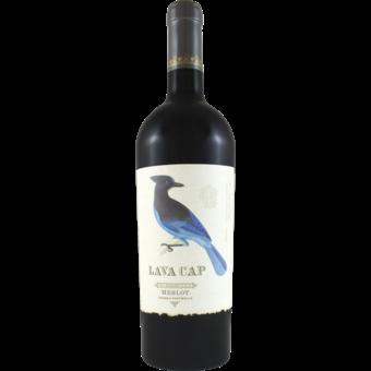 Bottle shot for 2018 Lava Cap El Dorado Merlot