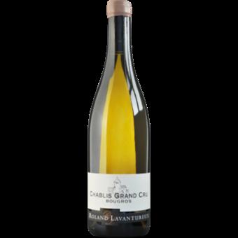 Bottle shot for 2018 Roland Lavantureux Chablis Grand Cru Bougros
