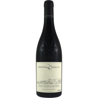 Bottle shot for 2018 Giraud Chateauneuf Du Pape Tradition