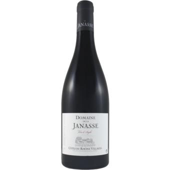 Bottle shot for 2018 Janasse Terre D'argile Cotes Du Rhone