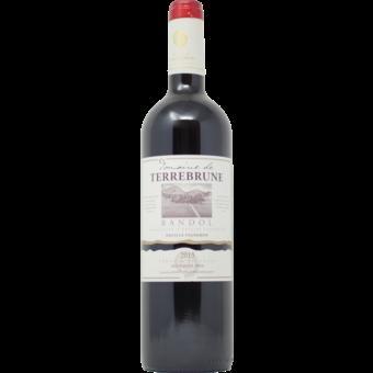 Bottle shot for 2015 Terrebrune Bandol Rouge