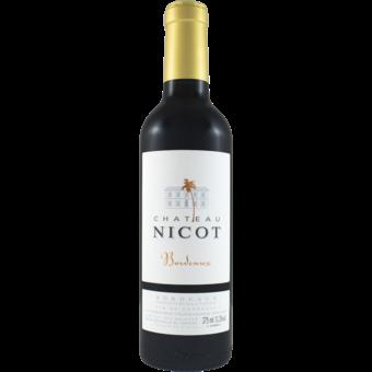 Bottle shot for 2018 Chateau Nicot Bordeaux