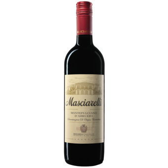 Bottle shot for 2018 Mascaiarelli Montepulciano D'abruzzo
