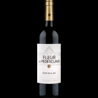 Bottle shot for 2018 Fleur De Pedesclaux Pauillac