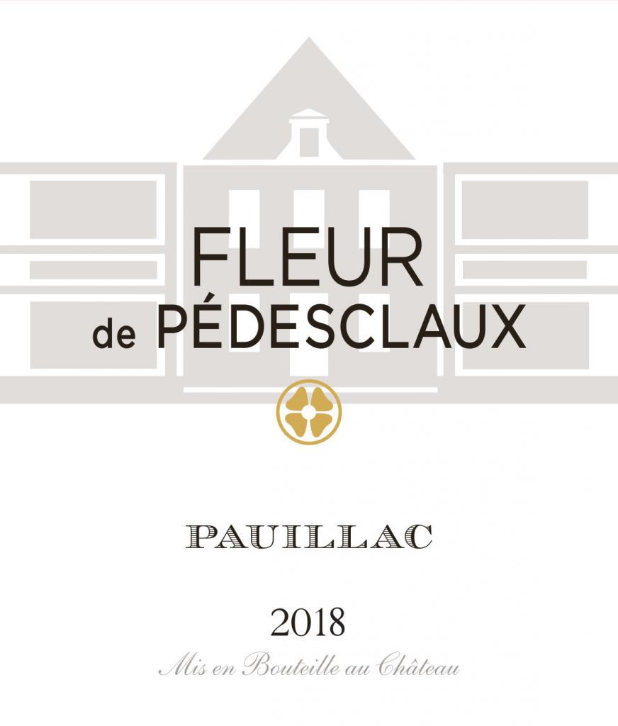 Fleur De Pedesclaux Pauillac 2018