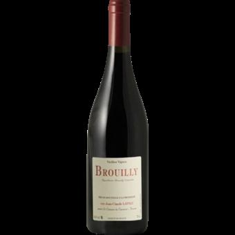 Bottle shot for 2019 Jean Claude Lapalu Brouilly Vieilles Vignes