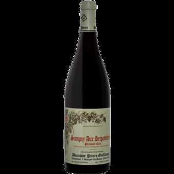 Bottle shot for 2018 Pierre Guillemot Savigny Les Beaune Serpentieres 1er Cru