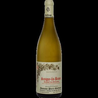 """Bottle shot for 2018 Pierre Guillemot Savigny Les Beaune Blanc """"Dessus Les Gollardes"""""""
