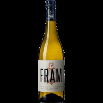 Bottle shot for 2019 Fram Chardonnay