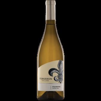 Bottle shot for 2017 Forgeron Cellars Chardonnay