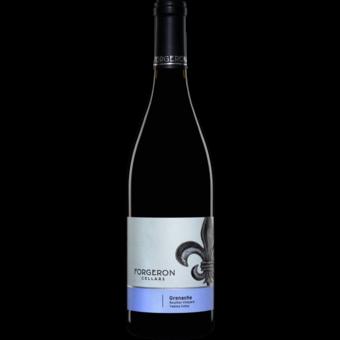 Bottle shot for 2018 Forgeron Boushey Grenache