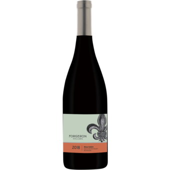 Bottle shot for 2018 Forgeron Heart Of The Hill Mourvedre