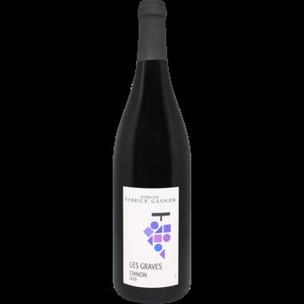 Bottle shot for 2019 Gasnier Chinon Les Graves