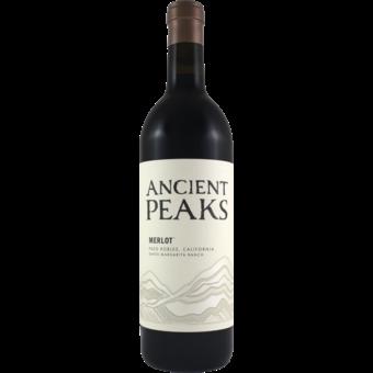 Bottle shot for 2018 Ancient Peaks Merlot