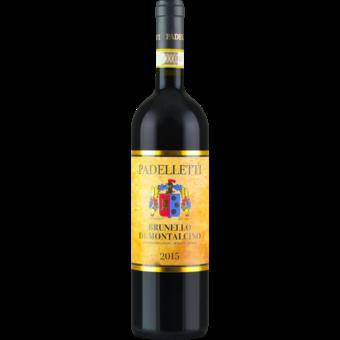 Bottle shot for 2015 Padelletti Brunello Di Montalcino