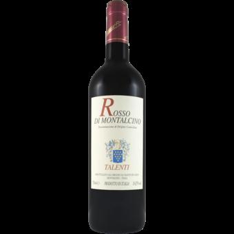 Bottle shot for 2018 Talenti Rosso Di Montalcino