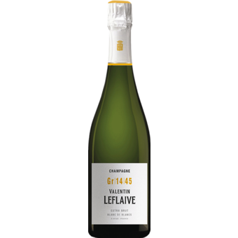 Bottle shot for  Valentin Leflaive Blanc De Blanc Champagne