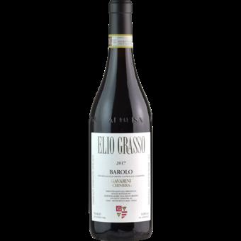 Bottle shot for 2017 Elio Grasso Barolo Gavarini Chiniera