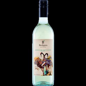 Bottle shot for 2018 Beelgara Semillon Sauvignon Blanc