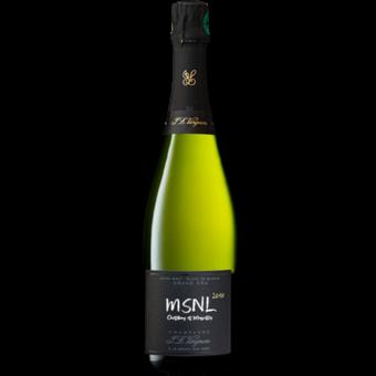 Bottle shot for 2010 J.L. Vergnon Extra Brut Blanc De Blancs Msnl Chetillons & Mussettes