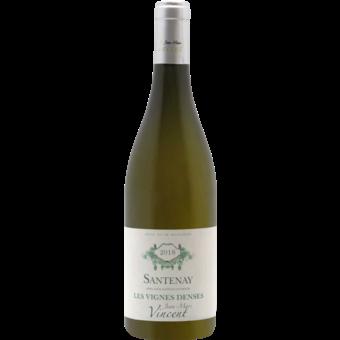 Bottle shot for 2018 Jean Marc Vincent Santenay Blanc Les Vignes Denses