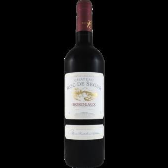 Bottle shot for 2018 Chateau Roc De Segur Bordeaux Rouge