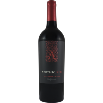 Bottle shot for 2019 Apothic Winemakers Red Blend
